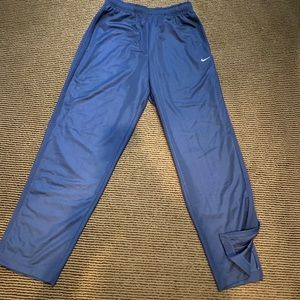 Men's Classic Blue Nike Track Pants.
